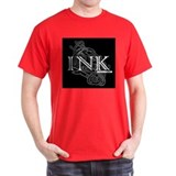 INKMUSIC.NET Black T-Shirt