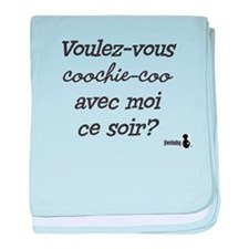 Voulez-vous coochie-coo? Baby Blanket