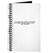 Ray Bradbury quote Journal