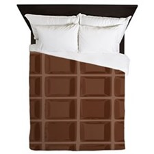 Chocolate bar Queen Duvet