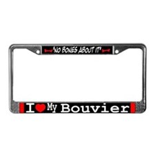 NB_Bouvier de Flandres License Plate Frame