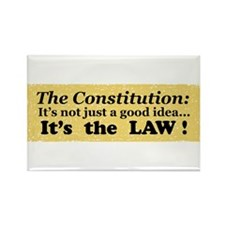 Constitution Rectangle Magnet