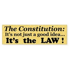 Constitution Bumper Bumper Sticker