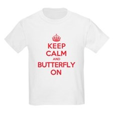 Keep Calm Butterfly T-Shirt