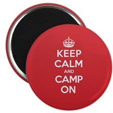 Keep Calm Camp Magnet
