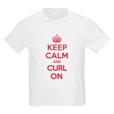 Keep Calm Curl T-Shirt