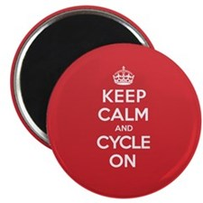 "Keep Calm Cycle 2.25"" Magnet (100 pack)"