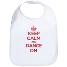 Keep Calm Dance Bib