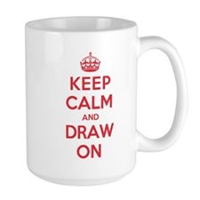 Keep Calm Draw Mug