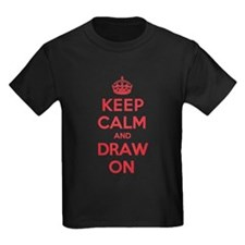 Keep Calm Draw T