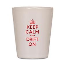 Keep Calm Drift Shot Glass