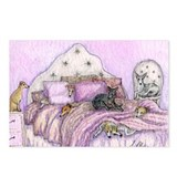 Sighthounds slumber party Postcards (Package of 8)