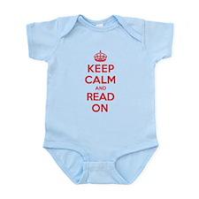 Keep Calm Read Infant Bodysuit
