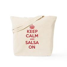 Keep Calm Salsa Tote Bag