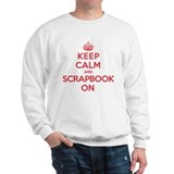 Keep Calm Scrapbook Sweater