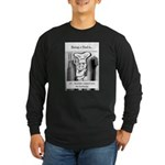 Barbecue Dad Long Sleeve Dark T-Shirt