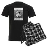 Eye on the Ball Dad Men's Dark Pajamas