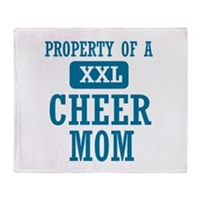 Cool Cheer mom designs Throw Blanket
