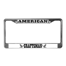 American Craftsman License Plate Frame