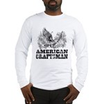 American Craftsman Distressed Long Sleeve T-Shirt