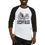 American Craftsman Distressed Baseball Jersey