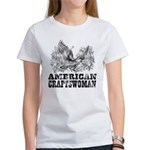 American Craftswoman Distressed Women's T-Shirt