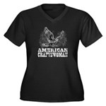 American Craftswoman Distressed Women's Plus Size