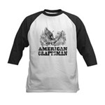 American Craftsman Distressed Kids Baseball Jersey