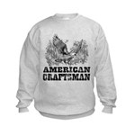 American Craftsman Distressed Kids Sweatshirt