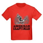 American Craftsman Distressed Kids Dark T-Shirt