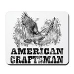 American Craftsman Distressed Mousepad