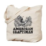 American Craftsman Distressed Tote Bag
