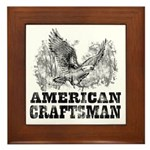 American Craftsman Distressed Framed Tile