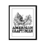 American Craftsman Distressed Framed Panel Print