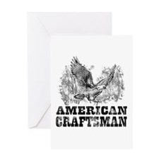 American Craftsman Distressed Greeting Card