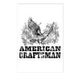American Craftsman Distressed Postcards (Package o