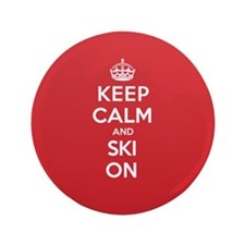 "K C Ski On 3.5"" Button (100 pack)"