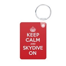 K C Skydive On Keychains