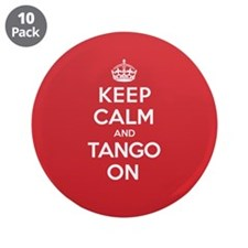 "K C Tango On 3.5"" Button (10 pack)"