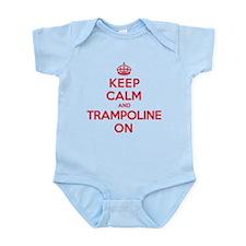K C Trampoline On Infant Bodysuit