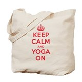 K C Yoga On Tote Bag