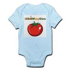 iGrowMyOwn: Tomato Infant Bodysuit