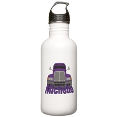 Trucker Michelle Stainless Water Bottle 1.0L