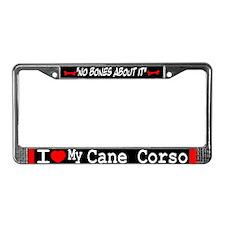 NB_Cane Corso License Plate Frame