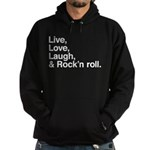 Rock and roll Hoodie (dark)