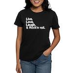 Rock and roll Women's Dark T-Shirt