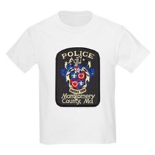 Montgomery County Police Kids T-Shirt