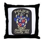 Montgomery County Police Throw Pillow