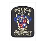 Montgomery County Police Postcards (Package of 8)