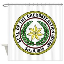 Great Seal of the Cherokee Nation Shower Curtain
